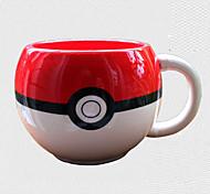 bolsillo pequeño monstruo Monster Ball bolsillo hada de la taza de cerámica roja más accesorios