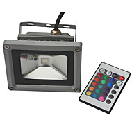 10W Focos LED 900-1000 lm RGB COB AC 85-265 V 1 piezas