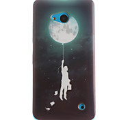 Moon Pattern TPU+IMD Soft Case for Multiple Nokia Lumia 640/N535/N630/N530