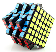 Yongjun® Smooth Speed Cube 6*6*6 Flourescent / Professional Level Magic Cube Black / White / Pink Plastic