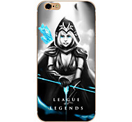So Cool Ultra-thin Other TPU Soft League of Legends,So Cool Case Cover For  IPhone 5/6/6s/6plus/6s plus CFYX02
