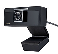 USB 2.0 HD Webcam 1280x720 CMOS 30FPS with Mic