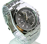Men's Fashion  Personality Quartz Alloy Leisure Watch(Assorted Colors)