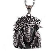 The Royal Priest Personality Retro Pendant Pendant Necklace Titanium Male