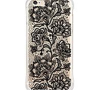 zurück Wasserdichte / Stoßfest / Transparent Blume TPU WeichBack Shockproof/Waterproof/Transparent TPU Soft Flower Case Cover For Apple