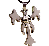 The Cross Necklace Pendant - Skeleton