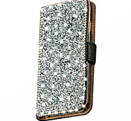 Wallet Stand Bling Crystal Diamond Leather Case Cover For Samsung Galaxy J5