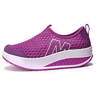 Red/Black/Blue/Gray/Purple/Green Wearproof Rubber Running Shoes for Women