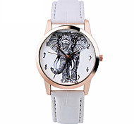 Elephant Watch Women Watches Leather Unique  Boyfriend Gift Idea Spring Unique Custom Ladies Trendy Strap Watch