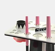 Make-up für Sie Make-up Pinsel Wäscheständer (schwarz + weiß)