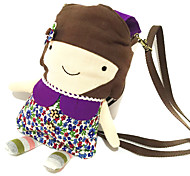 Female Doll Cotton Shoulder Hand Bag Baby Wipes Xiekua Package Bag