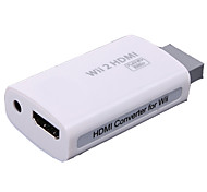 --Mini Novedad-Metal ABS-Audio y Video-Adaptador y Cable