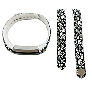 Smart Strap Bracelet Colorful Printing Silicone Bracelet For Fitbit Alta(25)