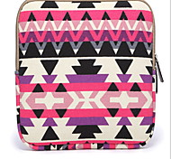 For Shockproof Case Pochette Case Geometric Pattern Soft Textile iPad Air