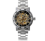 WINNER® Men's Auto-Mechanical Luxury Steel Skeleton Wrist Watch  9 Cool Watch Unique Watch