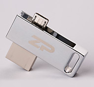 ZP C06 8GB USB 2.0 Water Resistant / Shock Resistant / Rotating / OTG Support (Micro USB)