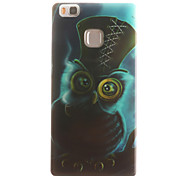 Owl Painting Pattern TPU Soft Case for Huawei Ascend P9 Lite P9Mini/ P8 Lite P8Mini