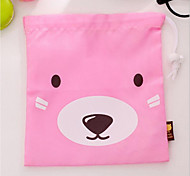Cute Slumped Bear Business Travel Wash Clothes Underwear Storage Bag Suit / Small Pouch
