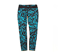 Running Tights Women's Quick Dry / Compression / Sweat-wicking Running Sports Cyan
