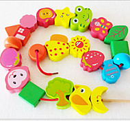 Cartoon Wooden Bead Toy