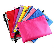 Canvas A4 Document Bag with Zipper(Random Colors)