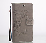 PU Leather Material Butterfly Embossing Pattern Phone Case for Huawei P9 Plus/V8/Honor 5C/Y5 II