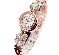 Women's Fashion Watch Digital Watch Bracelet Watch Casual Watch Imitation Diamond Quartz Digital Alloy Band Silver Gold
