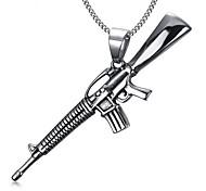 Men's Military Fashion Titanium Steel Pendant for Necklace