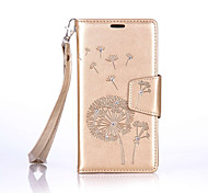 Dandelion Lanyard Embossed Diamond Phone Holster Phone Shell for Nokia Lumia 650/550