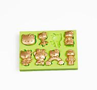 1 HorneandoHerramienta para hornear / 3D / Alta calidad / Antiadherente / Ecológico / Nueva llegada / Gran venta / decoración de pasteles