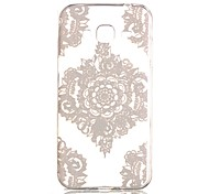 New Lace Flowers Hollow Pattern TPU Case For Samsung Galaxy J3(2016)