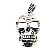 316L Stainless Steel Hanging Hollow Skull
