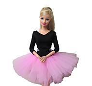 Barbie-Puppe süße Ballettkleid in pink