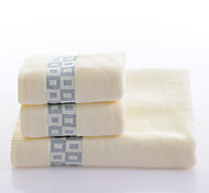 Yukang®Quilted Cotton Towels Cotton Towel Sets Combination 3Pcs/Set