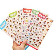 Six album sticker diy stickers