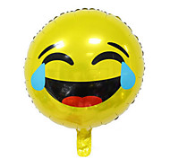 Smiling Expression Package Aluminum Foil Balloons Birthday Party Balloons (Crying Face)