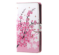 Full Body Wallet / Card Holder / with Stand Tree PU Leather Hard Case Cover For Huawei Huawei Y560