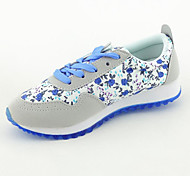 Velvet Rubber Pastoral Floral Shoes Woman Casual Shoes