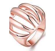 Ring Schmuck vergoldet Rose Gold überzogen 18K Gold Modisch Gold Rose Schmuck Hochzeit Party Halloween Alltag Normal Sport 1 Stück