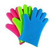 Creative Kitchen Gadget / Melhor qualidade / Alta qualidade microwave oven gloves Silicone 27.5*19
