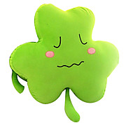 Plush Pillow Cushion Shaped Green Clover Cartoon Lovers Valentine Gift