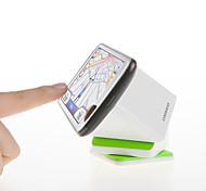 Magic Cube Mobile Scaffold Rotate 360 Degrees PU Antiskid Adsorption Car Navigation White