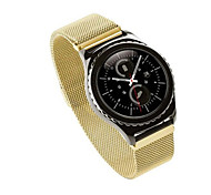 NOTO Link Bracelet strap & Milanese Loop Magnetic Closure watchbands Stainless Steel band for Samsung Gear S2 Classic