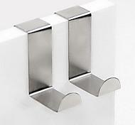 2 forma z ganchos de acero inoxidable 75g