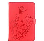 Для Бумажник для карт / Other Кейс для Чехол Кейс для Цветы Мягкий Искусственная кожа Apple iPad Mini 4