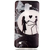 Loves Pattern Pattern Relief Glow in the Dark TPU Phone Case for LG K10/K8/K7/K5