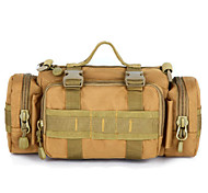 25 L Shoulder Bag Camping & Hiking Outdoor Waterproof Gray / Black / Light Yellow / Brown / Camouflage Nylon
