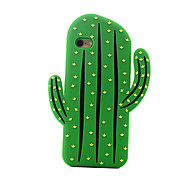 3D Cactus Silicone Case for iPhone 6plus/6S plus iPhone6/6S iPhone5/SE Case