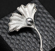 Angel Wing Crystal Brooch