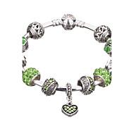 Bracelet Charmes pour Bracelets / Bracelets Rigides / Manchettes Bracelets / Bracelets de rive / Bracelets en ArgentAlliage / Strass /